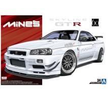 AOSHIMA 05365 - 1:24 Nissan Skyline GT-R R34 Mines