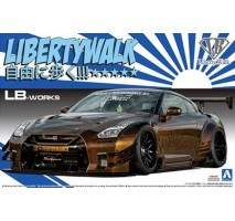 AOSHIMA 05591 - 1:24 Nissan R35 GT-R Type 2 Version 1 Lb Works