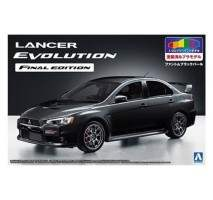 AOSHIMA 05090 - 1:24 Mitsubishi Lancer Evolution X Final Edition Black Pearl