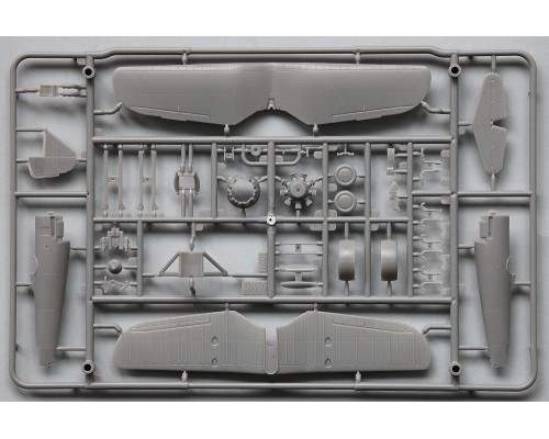 ARMA HOBBY AH70008 - 1:72 PZL P.7a Model Kit