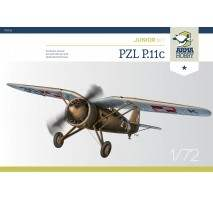 ARMA HOBBY AH70016 - 1:72 PZL P.11c Junior Set
