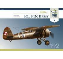 "ARMA HOBBY AH70017 - 1:72 PZL P.11c ""Kresy"" Model Kit"