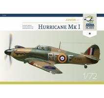 ARMA HOBBY AH70020 - 1:72 Hurricane Mk I Model Kit