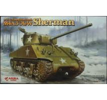 ASUKA - Macheta tanc american Sherman M4A3(76)W 1:35