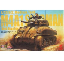 ASUKA - U.S. Medium Tank M4A1 Sherman Direct Vision Type 1:35