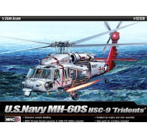 """Academy 12120 - 1:35 USN MH-60S """"HSC-9 TROUBLE SHOOTER"""""""