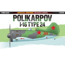 Academy Macheta avion sovietic Polikarpov I16 Type 24 1:48