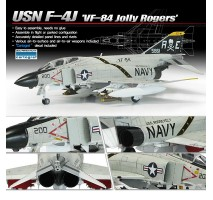 Academy 12529 - 1:72 USN F-4J VF-84 JOLLY ROGERS Limited Edition