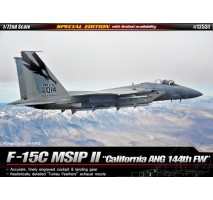 "Academy Macheta avion american F-15C Eagle ""California Ang 144th FW"" 1:72"