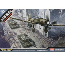 Academy Macheta set avion Ju 87G-2 Stuka si tanc sovietic IS-2 1:72