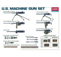 Academy 13262 - 1:35 MACHINE GUN SET
