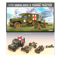 Academy 13403 - 1:72 US DODGE AMB.+ TRACTOR