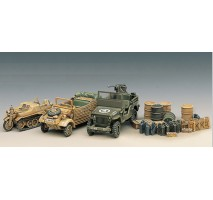 Academy 13416 - 1:72 LIGHT VEHICLES OF ALLIED & AXIS WWII