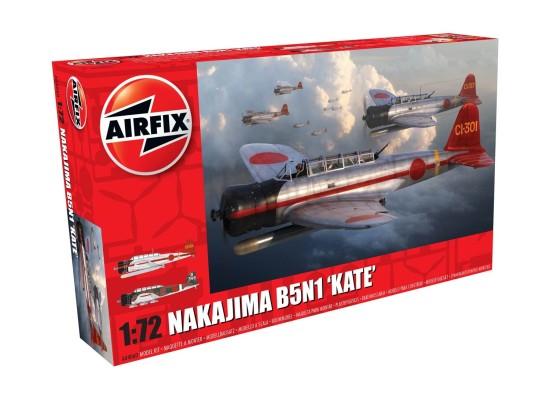 "Airfix A04060 - 1:72 Nakajima B5N1 ""Kate"""