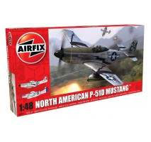 Airfix A05131 - 1:48 North American P51-D Mustang - New tool