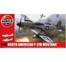 Airfix 05131 - North American P-51D Mustang 1:48