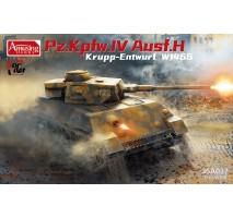 Amusing Hobby 35A037 - 1:35 Panzer IV Ausf.H Krupp Entwurf W1466