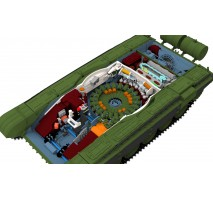 Amusing Hobby 35A038 - 1:35 T-72 M1 (full interior)