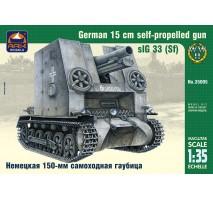 """ARK Models AK35005 - 1:35 """"Bison"""" sIG 33 (Sf) German 15 cm self-propelled infantry gun"""