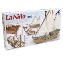 Artesania Latina 22410 - 1:65 La Nina - Wooden Model Ship Kit