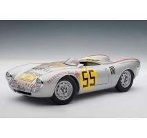 AUTOart 85470 - PORSCHE 550 - 1500 SPYDER PANAMERICANA 1954 HANS HERRMANN #55 1:18