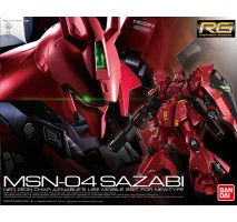 Bandai - 1:144 RG MSN-04 SAZABI