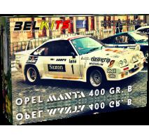BELKITS 009 - 1:24 OPEL MANTA 400 GR. B
