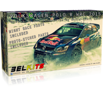 BELKITS 010 - 1:24 VOLKSWAGEN POLO R WRC 2015
