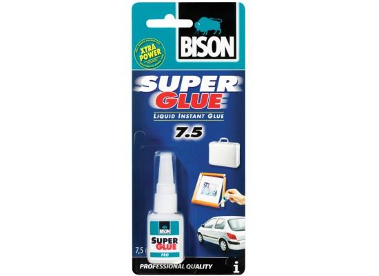 Bison - Super Glue Industrial 7.5 gr