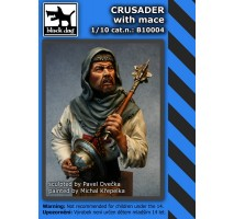 Black Dog - Crusader with mace 1:10