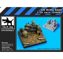 Black Dog - Baza figurina – baza americana 1:35