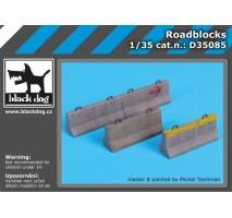 Black Dog - Baza figurina – Obstacole 1:35