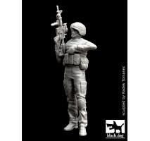 Black Dog - Figurina rasina soldat american modern in Irak 1:35