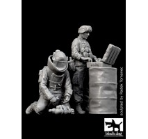 Black Dog - Figurine set echipa genisti EOD in Irak 1:35
