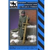 Black Dog - Figurina Grenadier panzerschreck Ardennes 1945 1:35