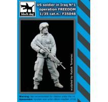 Black Dog - Figurina Soldat american in Irak 1 1:35