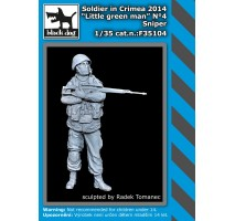 Black Dog - Soldier in Crimea N°4 sniper 1:35