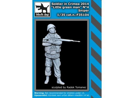 Black Dog - Soldier in Crimea N°4 sniper 1:35