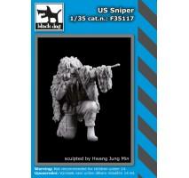 Black Dog - Figurina lunetist american 1:35