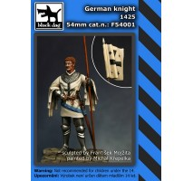 Black Dog - German knight 1425 54mm