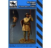 Black Dog - Figurina rasina Armiger 140075mm
