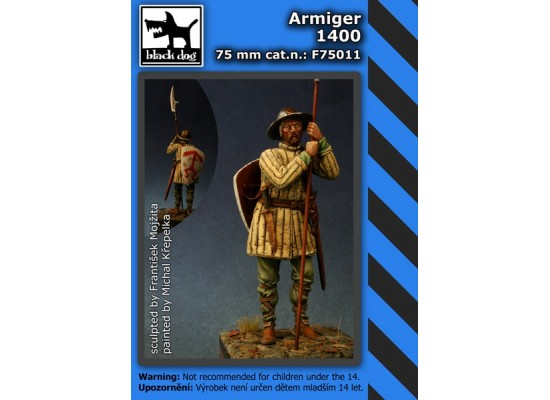 Black Dog - Armiger 1400 75mm