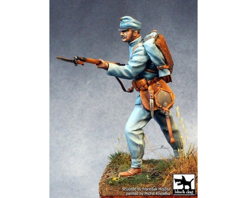 Black Dog - Austro-Hungarian soldier WW I 75mm