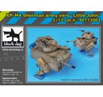Black Dog - XP-M4 Sherman army vers Little John 1:72
