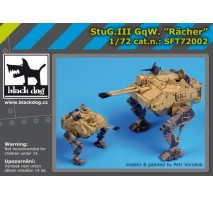"Black Dog - Stug III Gqw ""Racher"" 1:72"