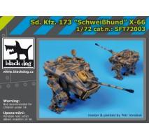 Black Dog - Sd.Kf3.173 Schweibhund X-66 1:72