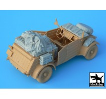 Black Dog - Kubelwagen type 82 accessories set 1:35