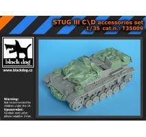 Black Dog - Stug III C/D accessories set 1:35