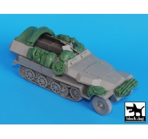 Black Dog - Sdkfz 251 C accessories set 1:35