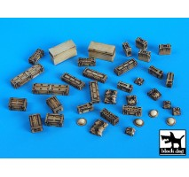 Black Dog - Set accesorii – echipament britanic 1:35